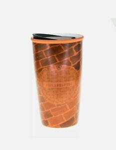 Starbucks Philadelphia Pennsylvania Brick Wall Ceramic Traveler Coffee Cup 12oz