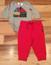 Baby Gap Boys 18-24 Month Outfit. I Live With Parents Shirt & Red Pants. Nwt
