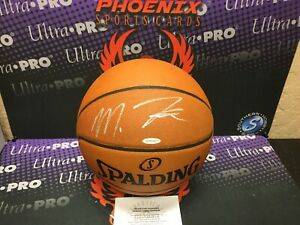 Markelle Fultz Signed Autograph Official NBA Game Ball Upper Deck UD Authentic