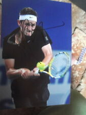 Tennis Player Bernard Tomic Personally handsigned Teen photo 6X4