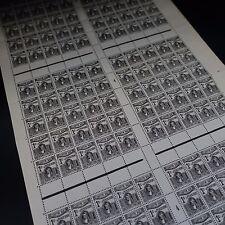 Feuille Sheet Tunisia Colonia Francia Tassa N° 37 x150 Millésime 4 Neuf Mnh Raro