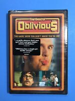 The Best of Oblivious: The Game Show You Don't Know You're On (DVD) New Sealed