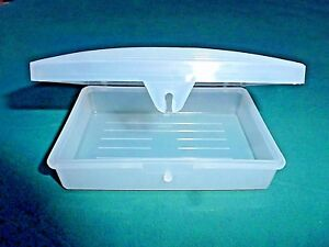 Soap Case Plastic Container Holder Travel Dish Snaps Shut  USA SHIPPER
