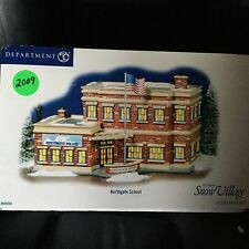 Dept 56 Snow Village® NORTHGATE SCHOOL BRAND NEW Still In Shipping Case