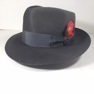 Biltmore - REESE / (President) - Steel Gray - Fedora [ 6 7/8 : 55cm] MADE IN USA