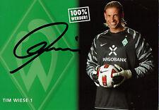 Tim Wiese (Werder Bremen) - 2010/2011 - original - DFB