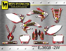 Honda CRf 450R 2005 up to 2008 Moto StyleMX graphics decals kit stickers