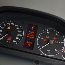 Mercedes A KLASSE W169 B KLASSE W245 TACHO REPARATUR PIXELFEHLER DISPLAY