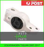 Fits VOLKSWAGEN TIGUAN 2007-2017 Rear Rubber Bush Front Arm Wishbone Suspension