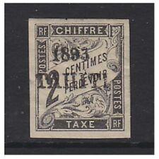 Tahiti - 1893, 2c Black Postage Due stamp - M/M - SG D45