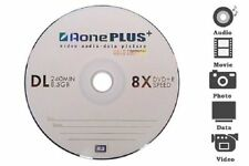 50 Aone Gold Edition Dual Layer DVD+R DL 8X 8.5GB Disc Blank Media Disc