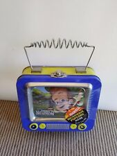 Jimmy Neutron Small Tin Box lunch Metal Cartoon  51/2 x 5 New in sealed package