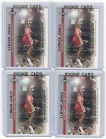 4 LEBRON JAMES 2003-04 Upper Deck Rookie Card RC lot/set Mint Gold Top Loader 18