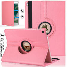 "For Apple iPad 10.2"" 10.5"" 9.7  360 Swivel Stand Smart Rotate Leather Case Cover"