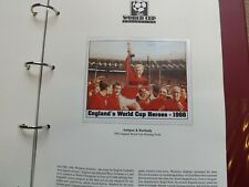 THE WORLD CUP COLLECTION FOOTBALL STAMPS USA 1994