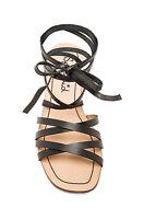NEW Splendid 'Tayler' Wrap Around Gladiator Sandal in Black Women's Size: 6 #2