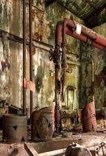 5x7FT Abandoned factory abandoned Photography Background Backdrops Studio Props