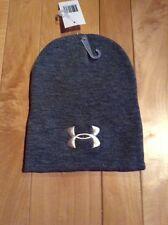 New Under Armor  Beanie Hat Grey