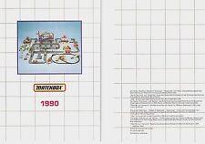 1990 MATCHBOX POCKET CATALOG
