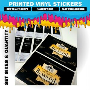 Printed Vinyl Stickers   Multiple PREMIUM Finishes   Matt, Static Cling, Clear