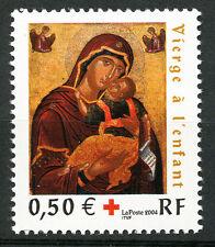 """Croix Rouge 2004.  """"La Vierge à l' Enfant"""" Y&T n° 3717"""