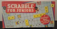 SCRABBLE for Juniors, vintage, Spear's games - 1958 1959