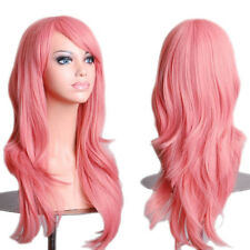 Synthetic Long Straight Hair Ombre Wig Middle Part Natural Wigs for Women Party