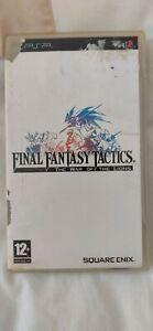 Final Fantasy Tactics: The War of The Lions.