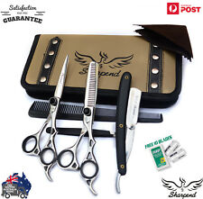 "Pro SHARPEND 6.5"" Barber Hair Cutting Thinning Scissors Shears Hairdressing Kit"