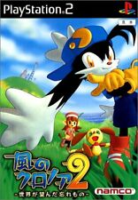 PS2 Klonoa 2 to forgotten the world wanted Japan PlayStation 2