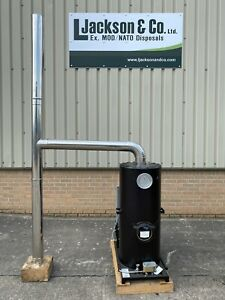 Deville Multi Fuel Heater (Tent/Marquee/Warehouse/Workshop/Log Cabin/Garage)