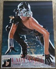 Lady Gaga Autograph Signed 18x24 Poster The Fame American Horror Story