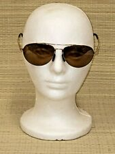 MAUI JIM  Aviator Pilot MJ-210-16 UNISEX GOLD FRAME Polarized Sunglasses