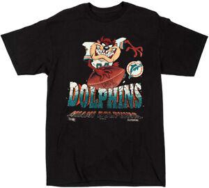 Vintage NFL Miami Dolphins t-shirt Black Unisex Cotton Reprint S to 3XL TK1557