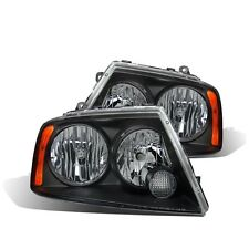 CG Lincoln Navigator 03-05 Headlight Black Amber