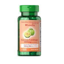 GARCINIA CAMBOGIA 500 mg 1x60= 60 CAPS PURITAN´S Bloqueador de grasa