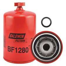 BALDWIN FILTERS BF1280 Fuel Filter, 6-1/4 x 3-11/16 x 6-1/4 In