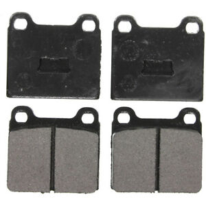 Disc Brake Pad Set-SST Rear,Front Federated MD96
