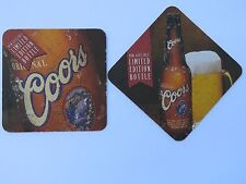 Beer Brewery Coaster <> COORS Brewing Limited Edition Banquet Bottle >< COLORADO