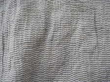 Sommerlich leicht Gecrashed Fein-Streifen Baumwolle Mischung in Grau/Weiß