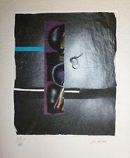 Ladislas Kijno Gravure Originale Signée Art Abstrait Ecole de Nice Abstraction