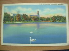 VINTAGE POSTCARD U.S.A.- LORING PARK - MINNEAPOLIS - MINNESOTA  Ref 2126