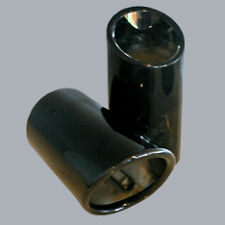 Exhaust Tail Pipe Tip-Tips Gloss Black AUDI OEM 8K0071761A