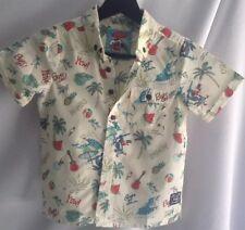 647eacdf Children's Mambo Loud Shirt Short Sleeve Size 5 Hawaiian Print