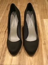 MARKS & SPENCER DARK GREEN/BROWN COURT SHOES - SIZE 7 - NEW