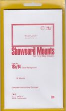 Showgard Clear Stamp Mounts 165mm / 94 For FDC First Day Covers 10 Quality Mount