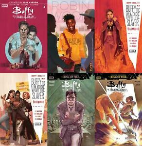 Buffy The Vampire Slayer (Issues #5 to #18 inc. Variants, 2019-2020)