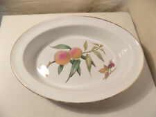 Royal Worcester 'Evesham' Oval Deep  Oven to Table Dish, 1963