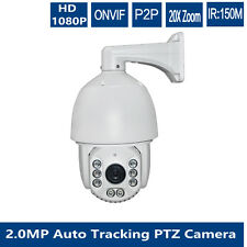 ip Auto tracking 22x zoom 2mp PTZ dome camera 7 inch waterproof night  IR 250M