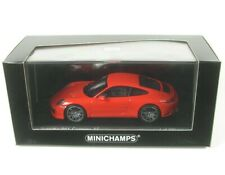 1 43 Minichamps Porsche 911 (991/2) carrera 4s Coupe 2016 Lightred